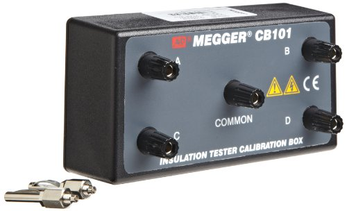 Megger CB101 Calibrated Check Box for 5kV Insulation Tester by Megger