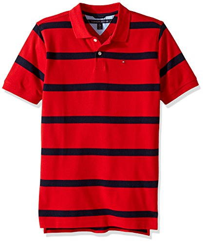 Tommy Hilfiger Big Boys' Clubhouse Pique Polo, Regal Red, - Tommy Kids Sale