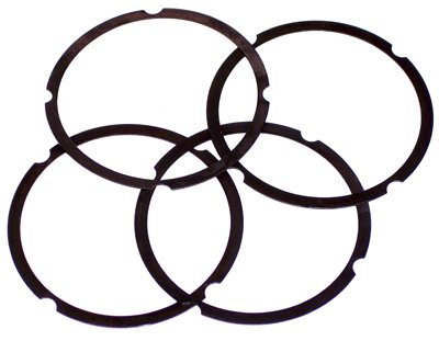 PREMIUM CYLINDER SHIM SET, Fits 85.5,87 & 88mm, .010'' Thick, 4 Pc by Appletree Automotive