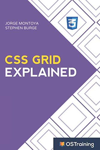 Book cover from CSS Grid Explained: Your Step-by-Step Guide to CSS Grid by Jorge Montoya