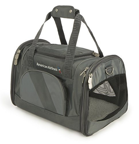 Sherpa American Airlines Duffle Pet Carrier, Medium, Charcoal by Sherpa (Image #1)