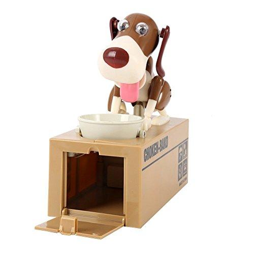 Miss.AJ My Dog Piggy Bank - Robotic Coin Munching Toy Money Box Random ()