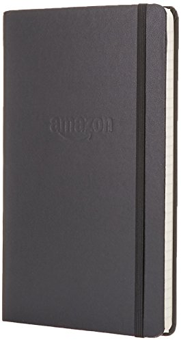 Electronics : Amazon Gear Classic Notebook - Ruled, Ruled, Black, Hard Cover (5 x 8.25)
