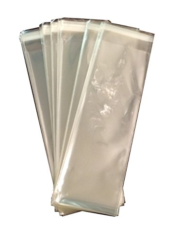 25-x-8-inches-long-food-safe-adhesive-self-sealing-resealable-clear-plastic-flat-cello-wrap-cellopha