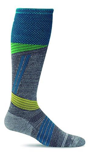 Sockwell Womens Alpine Medium Cushioned Ski Graduated Compression Socks