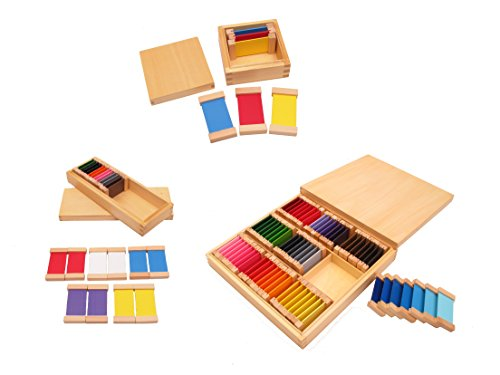 NEW Montessori Sensorial Material - Color Tablets Box I, II,