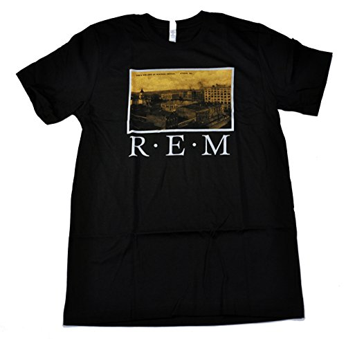 rem-postcards-from-athens-soft-fit-t-shirt-blacklarge