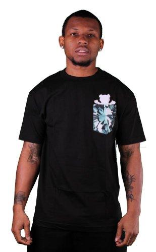 Simplicity Bear Pocket Black T-shirt