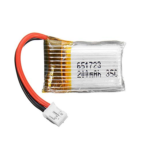 Price comparison product image 3.7V 200mAh 35C Battery For E010 E010C E011 E011C E013 RC Quadcopter - RC Toys & Hobbies RC Quadcopter Parts - 1 x 3.7V 200MAH 35C Battery