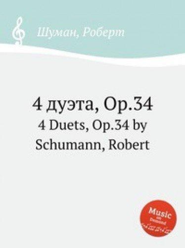 Read Online 4 dueta, Op.34 pdf
