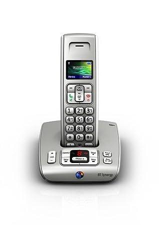bt synergy 6500 single dect cordless phone titanium amazon co uk rh amazon co uk