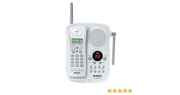 UNIden EXAI-2248i - Teléfono inalámbrico (2,4 GHz, con Sistema de Respuesta y Espera de Llamada): Amazon.es: Electrónica