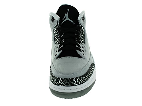 Jordan Air Jordan 3 Retro mixte adulte, cuir lisse, sneaker high