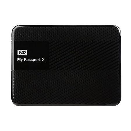 WD 2TB My Passport X for Xbox One Portable External Hard Drive - USB 3.0 - WDBCRM0020BBK-NESN