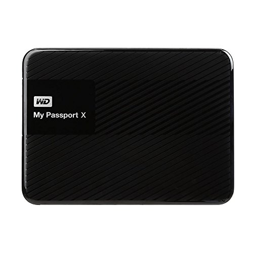 WD 2TB  My Passport X for Xbox One Portable  External Hard Drive  – USB 3.0  – WDBCRM0020BBK-NESN