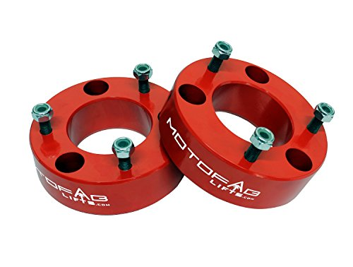 MotoFab Lifts F150-2.5RED - 2.5' Front Leveling Lift Kit That Will Raise The Front Of Your F150 2.5'