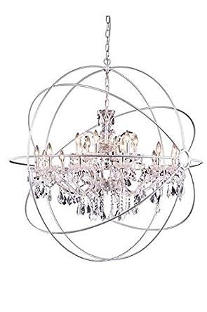 Metro polished nickel modern 18 light grand chandelier heirloom metro polished nickel modern 18 light grand chandelier heirloom handcut crystal in crystal clear aloadofball Gallery