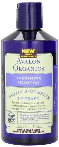 Avalon Organics Утолщение шампунь, 14 унций