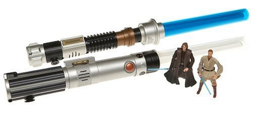 C3po Costume Real (Star Wars Electronic Lightsaber Action 2-Pack with 2 Bonus Figures)