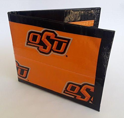 Oklahoma State University Cowboys Cowgirls NCAA Bi-Fold Duct Tape Wallet -