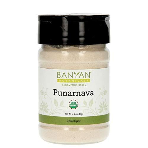 Organic Certified Spice (Banyan Botanicals Punarnava Powder - USDA Certified Organic, Spice Jar - Boerhavia diffusa - Ayurvedic Herb for Heart, Liver, and Kidneys*)