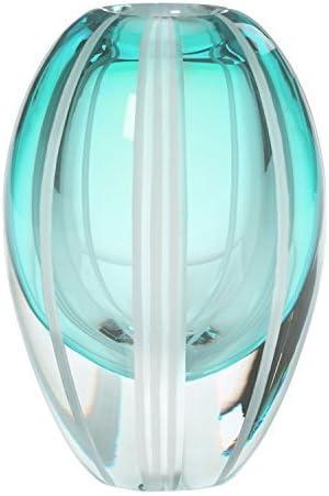 Waterford Evolution Aqua Haze 7-Inch Vase