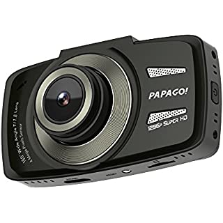 Sale Off Papago GoSafe 550 Super HD 1296p 160 Degree Ultra Wide Angle Dash Cam with 8GB Micro SD Card