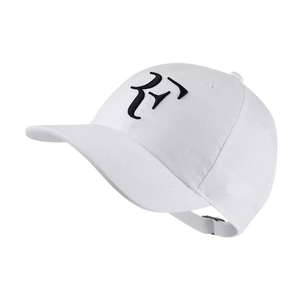 GHUKI Chapeau Casquette de Baseball Nouveau Joueur de Tennis en Coton No Structure Papa Chapeau Hommes Femmes Caps os en Broderie Nadal Chapeaux