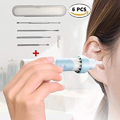 Tapones Orejas Oído Herramientas De Eléctrico Con Seguridad Limpiador Limpieza Blandos 5 Eliminación Sinoeem Led Kit mNOvn08w