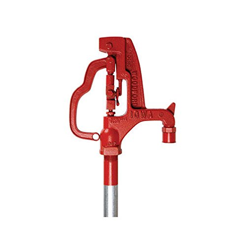 (Woodford Y34-4 Y34-4 Yard Hydrant Freezeless,4 ft bury depth, 84.5 inch overall length)