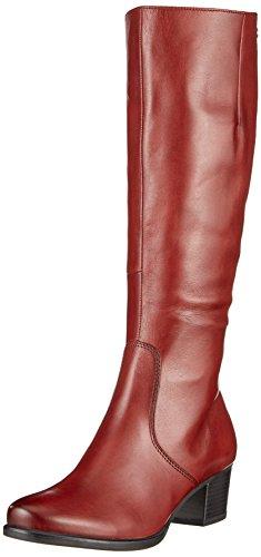 Femme Bordeaux Rouge Bottes Nappa Caprice 25519 ZxwOYnqCE