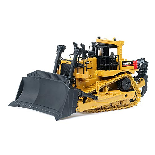 duturpo 1/50 Scale Diecast Collectible Dozer with Ripper, High Detail Metal Dozer Model Toy for Kids (Dozer)