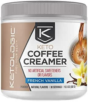 KetoLogic Keto Coffee Creamer - French Vanilla