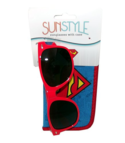 Superman Sunglasses with Pouch Case -