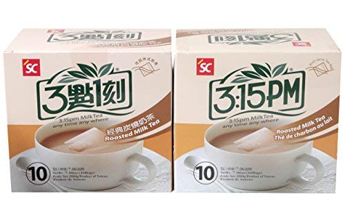 3:15pm - Roasted Milk Tea, 7.06 Oz - 10 Bags (Pack of 2)