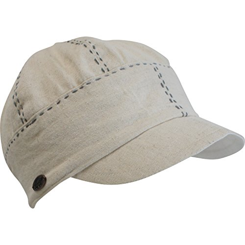 Turtle Fur Women's Nepal Raksi Cap, Hemp/Cotton Fitted Ca...