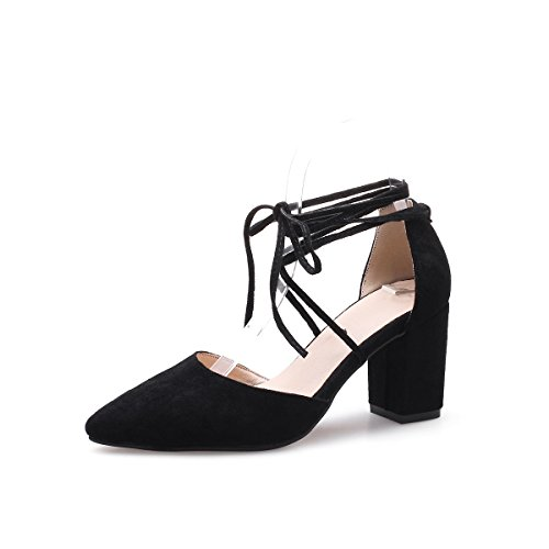 Bádminton Zapatillas Mujer Sintético Negro Unbekannt De Para EaqE8w