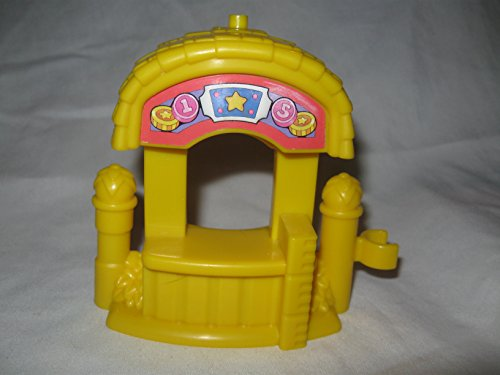 Fisher Price Little People Circus Amusement Park Yellow Ticket Booth Replacement Piece