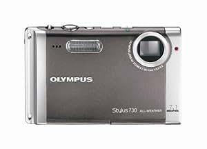 Olympus Stylus 730 7.1MP Digital Camera with Digital Image Stabilized 3x Optical Zoom (Silver)
