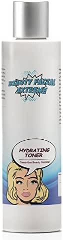 Hydrating Facial Toner – Preps sensitive, dry, and acne prone skin for serums & moisturizers. Anti aging pore minimizer for face that balances pH levels for healthier younger looking skin.