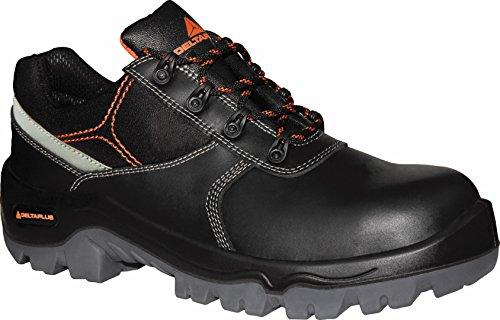 Delta plus calzado - Zapato piel crupon pigmentada 42 negro