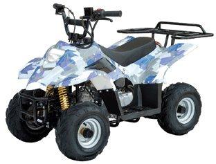 Kids 110cc ATV w/ Automatic Trans.,Foot Brake, and Remote Shutoff