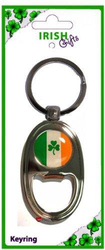 最前線の Irish Opener Traditional Bottle Opener Oblong Keyring Flag Tricolour Tricolour Flag Disk Clover Souvenir Gift B00831UR6K, 最新の激安:dd690b39 --- yelica.com