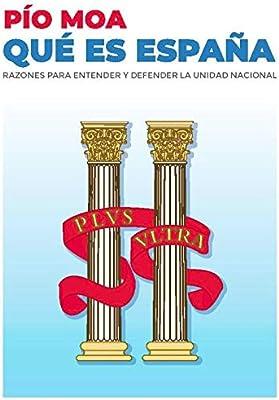 Qué es España: Amazon.es: Pío Moa, José Luis Medina García: Libros