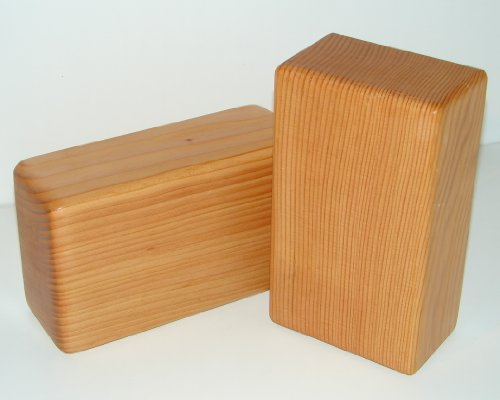 Yoga Block Wood Hand Made from Reclaimed Lumber