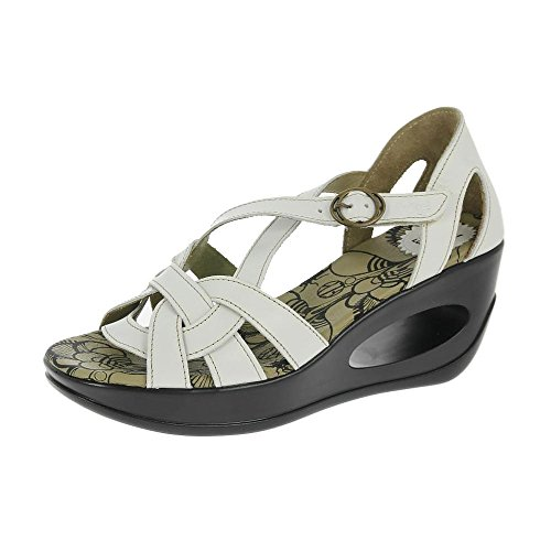 Fly London Sandalias De Hauk De Blanco Blanco