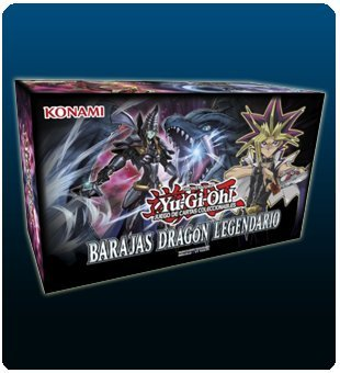 Devir Iberia- Yu-Gi-Oh! Barajas Dragón Legendario (547694)