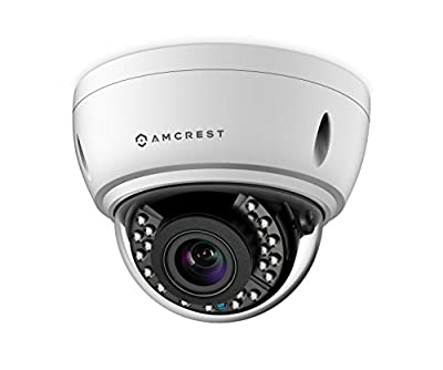 Amcrest 4xOptical Zoom HD 1080P 1920TVL Bullet Outdoor Security Camera(Quadbrid 4-in-1 HD-CVI/TVI/AHD/Analog), 2MP 1920x1080, 164ft NightVision, Motorized Varifocal Lens 40°-90° from Amcrest