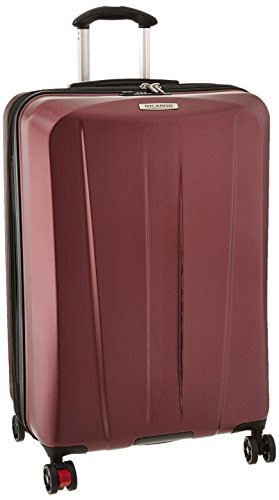 Expandable 26 Suiter In - Ricardo Beverly Hills San Clemente 26-inch 4 Wheel Expandable Upright, Red Cherry, One Size