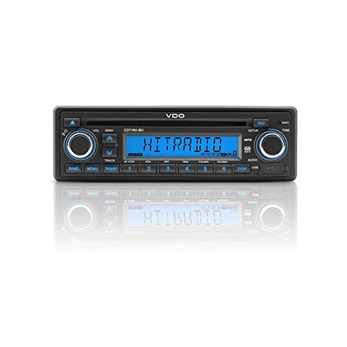 Vdo 12V Radio Cd/Mp3 USB Wma